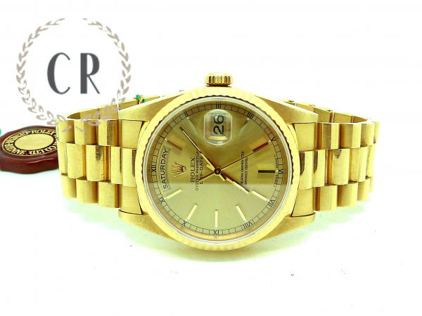 ROLEX DAY-DATTE GOLD